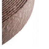 Ekoboard randafwerking 14 cm x 25 meter - kleur: Bruin Cortenstaal_