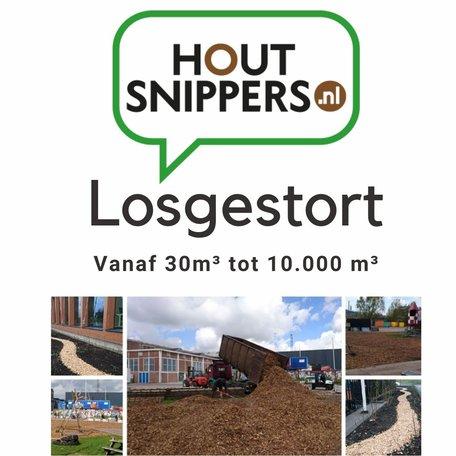 Houtsnippers Premium stamhout Losgestort