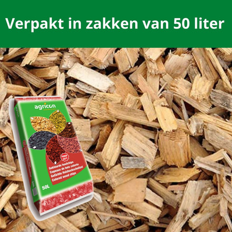 Houtsnippers Blanco 1950 liter