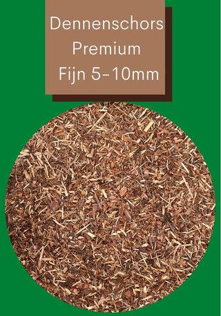 Dennenschors Mulch Premium 5/10mm 2250 Liter