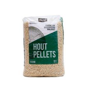 Houtpellets Pelfin 168 zakken - Wit Naaldhoud