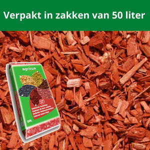 Houtsnippers Rood