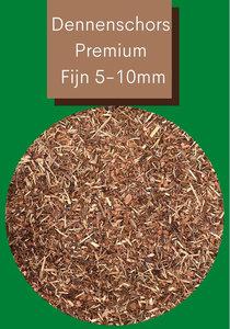 Dennenschors Mulch Premium 5/10mm 1500 Liter