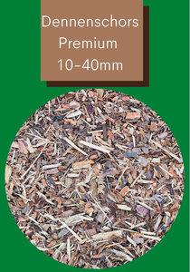 Dennenschors Premium 10/40mm 2520 Liter