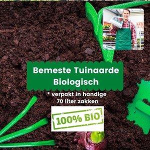 Biologische Bemeste Tuinaarde 980 liter (14 x 70 liter)